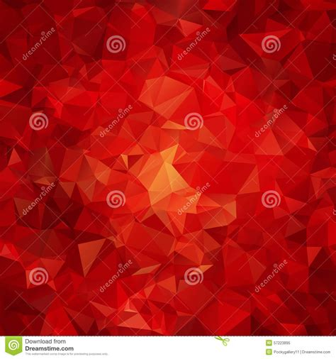 red abstract pattern background red abstract polygon pattern stock photo image 57223895