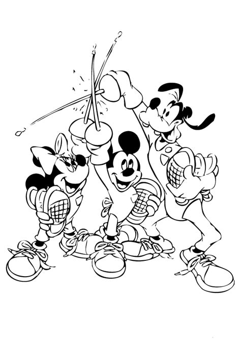 epic mickey coloring pages download and print for free