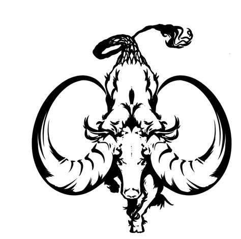 Capricorn Symbol Outline by 32 Zodiac Sign Capricorn Tattoos Ideas