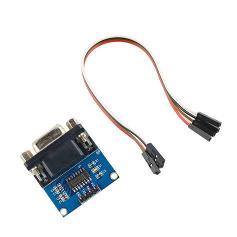 Max3232 Rs232 To Ttl Serial Port Converter Module Db9 Connector max3232 rs232 to ttl serial port converter module db9