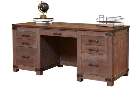 Amish Executive Desk by Amish Georgetown Executive Desk From Dutchcrafters