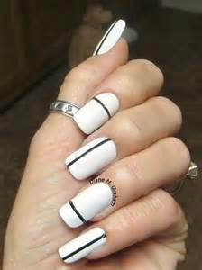 black and white simple nail designs quotes