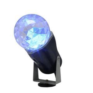lightshow   blue projection kaleidoscope spotlight