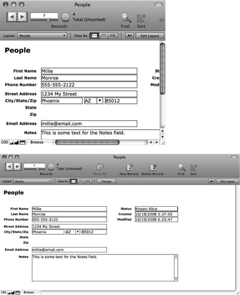 filemaker get layout field names 4 understanding layouts filemaker pro 10 the missing