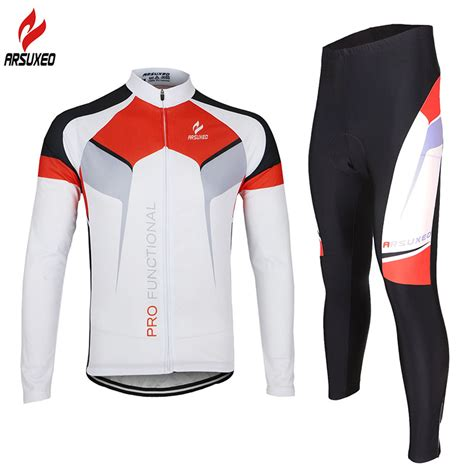 Jersey Sepeda Cross 1 aliexpress buy 2015 arsuxeo mens cycling sleeves mtb jersey bike bicycle sets shirts