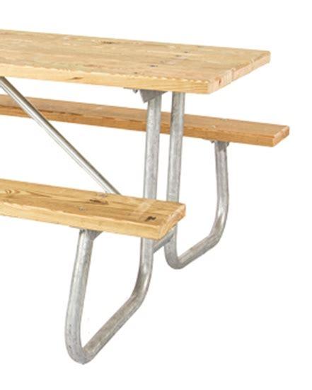 Frame Kit for 12 ft Picnic Table   Welded 1 5/8