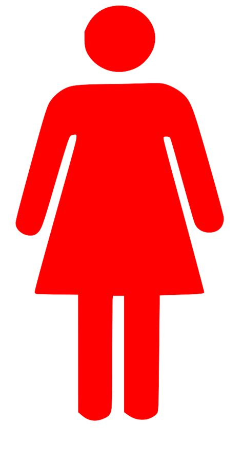 woman bathroom symbol women toilet symbol