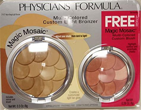physicians formula multi colored light bronzer physicians formula magic mosaic warm beige light bronzer