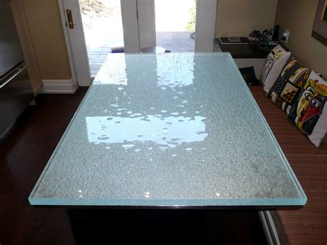 Clear Glass Countertops by Custom Glass Dining Table Designs By Cbd Glass Cbd Glass