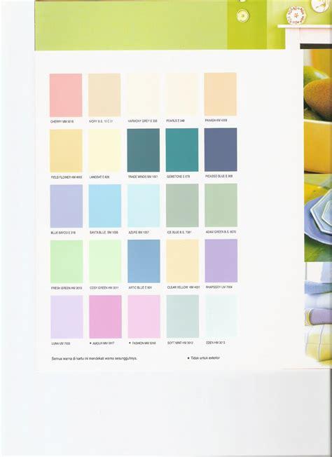 contoh warna pastel desainrumahidcom