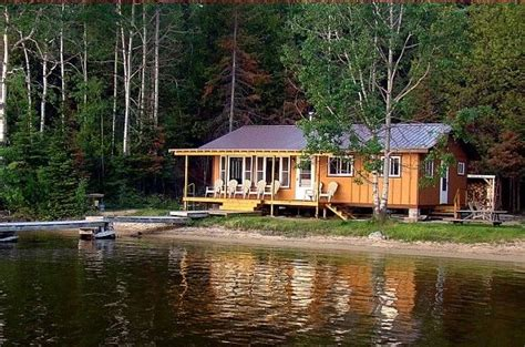 cottage for rent with fishing boat ontario northern wilderness cottages on dog lake northern