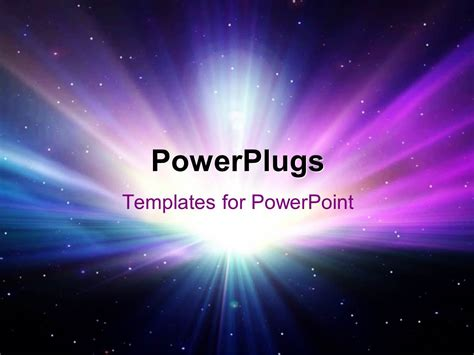 theme powerpoint galaxy powerpoint template abstract colorful galaxy scene with