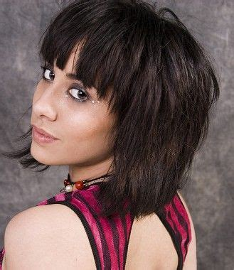 medium rock haircuts a medium brown rock hairstyle by web collections potential hair dos