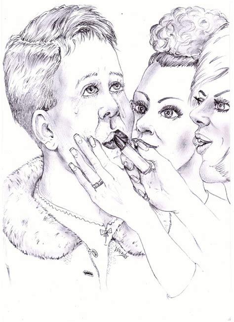 petticoat discipline art drawings pp art by cj 80