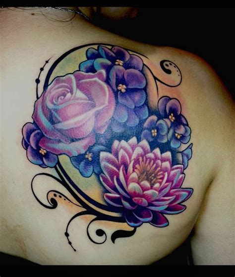 rose tattoo coverup flower coverup by theartofrain tattoos
