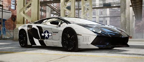 Lamborghini Aventador Custom Tron   www.pixshark.com