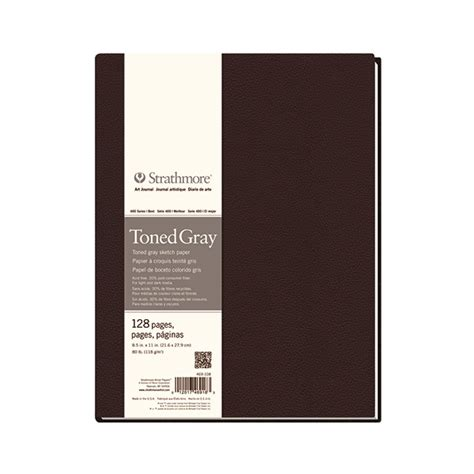 Strathmore Toned Gray 5 5 X 8 5 Sketch Pad 50 Sheets strathmore series 400 hardbound journal