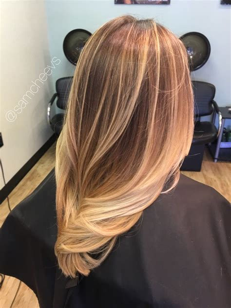 hairstyles for thin dirty hair honey chestnut platinum warm blonde highlights for dirty