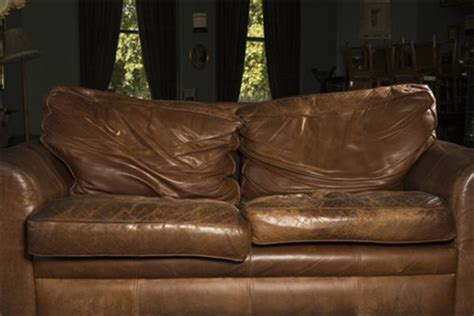 how to fix worn out leather couch home dzine fix flat cushions on a leather sofa