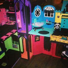 homemade monster high doll house homemade monster high dollhouse