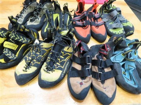 types of climbing shoes rock climbing gear equipment explained for everyone