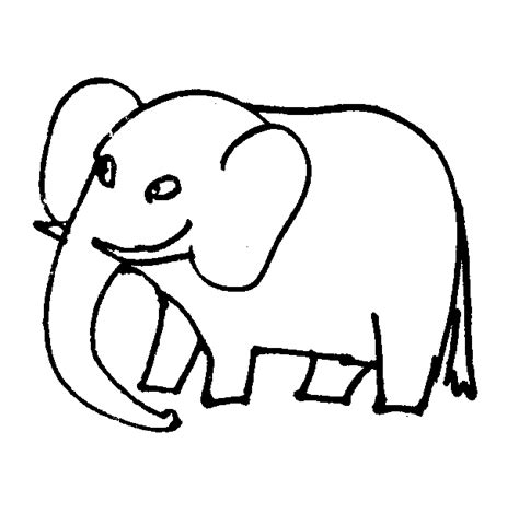 elephant coloring pages realistic elephant coloring pictures cartoon and realistic