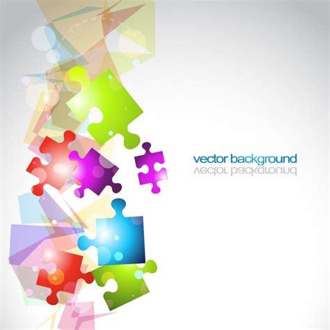 puzzle design elements vector puzzle background design vector free download