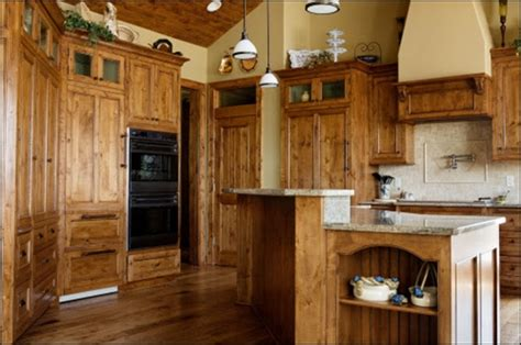 knotty alder cabinets for the home