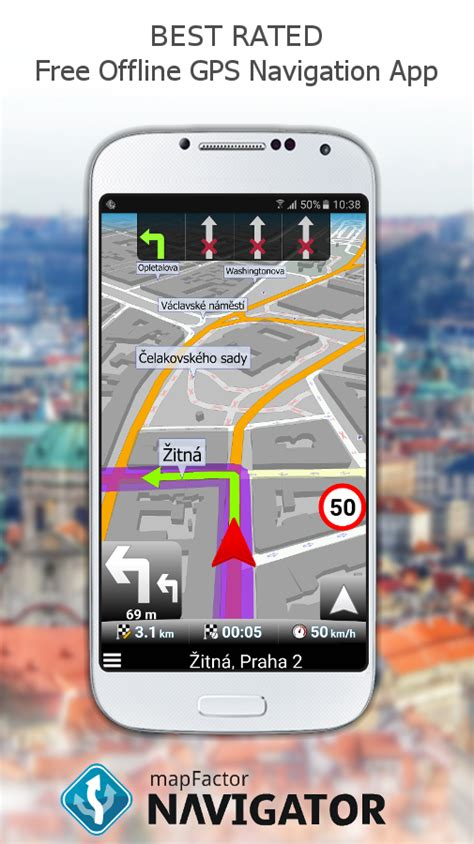 free gps app for android mapfactor gps navigation maps android apps on play
