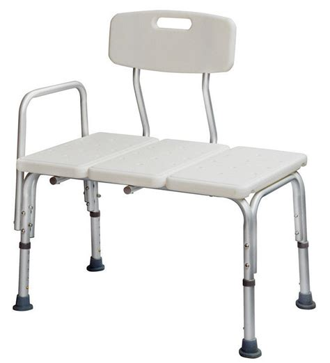 transfer bench shower chair medical adjustable bathroom bath tub shower transfer bench