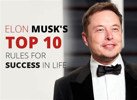 elon musk the lessons for success books elon musk s top 10 for success in