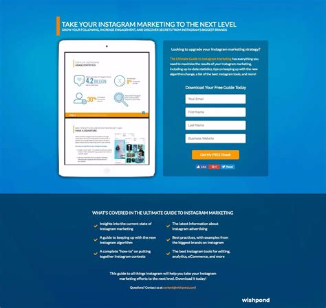 best landing page 101 of the best landing pages analyzed part 5 learn
