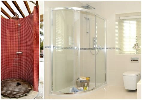 runde duschen exotische duschen 4 ausgefallene inspirationen