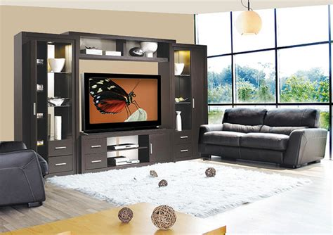 chrystie entertainment center wall unit modern