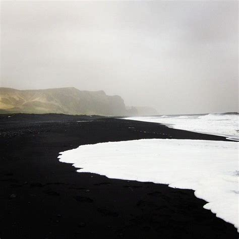 black sand beach iceland black sand beach vik iceland spaces pinterest