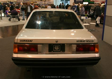 peugeot car history peugeot 1984 505 turbo coupe the history of cars