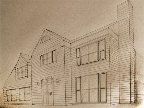 one point perspective house two point perspective house pictures to pin on pinterest pinsdaddy