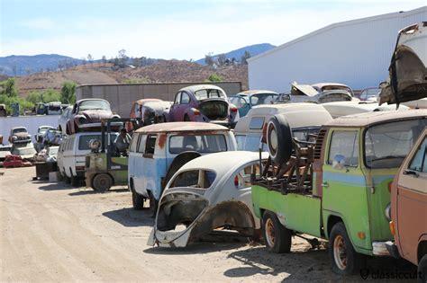 Volkswagen Salvage Yard interstate vw junkyard california classiccult