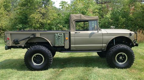 custom kaiser jeep 1968 kaiser jeep m715 pickup t265 dallas 2015