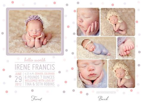 free photo templates for birth announcements 30 best images about birth announcement templates from kmp