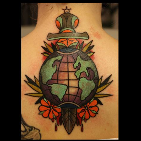 globe tattoo ideas globe is not a simple map best ideas gallery