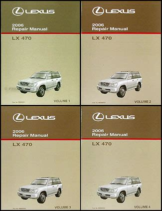 motor repair manual 2006 lexus is navigation system 2006 lexus lx 470 navigation system owners manual original