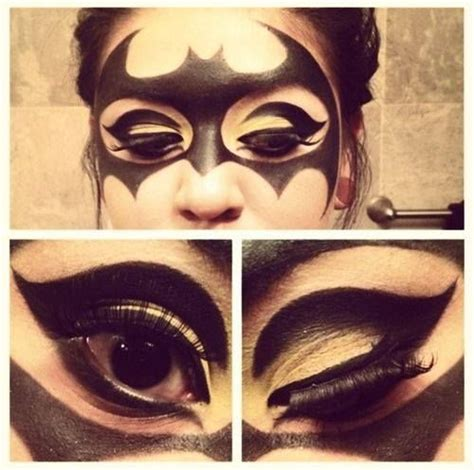 halloween hairstyles for batgirl 1000 ideas about catwoman makeup on pinterest jessica
