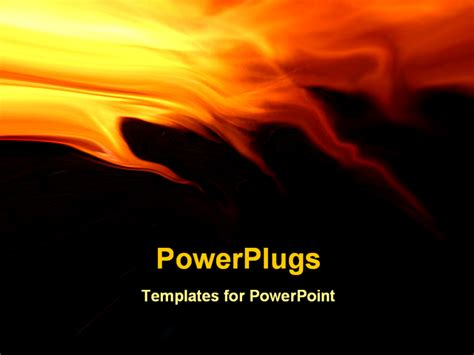 powerpoint themes free download fire abstraction fiery background for various design artwork