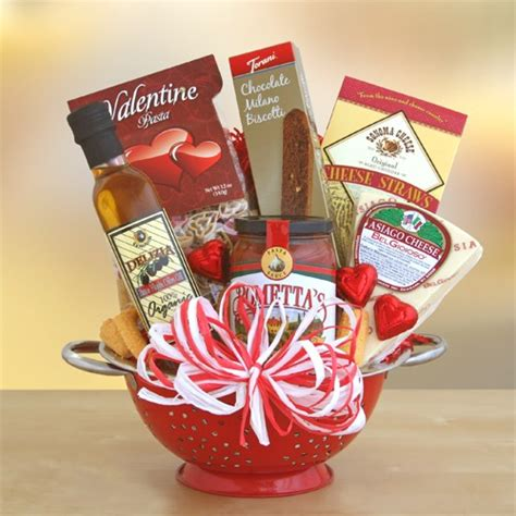 cooking gifts valentine italian gift basket california delicious
