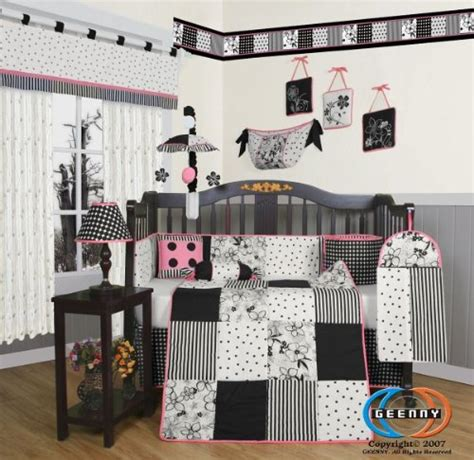 Black And White Crib Bedding Set Black And White Crib Bedding Black And White Nursery Bedding