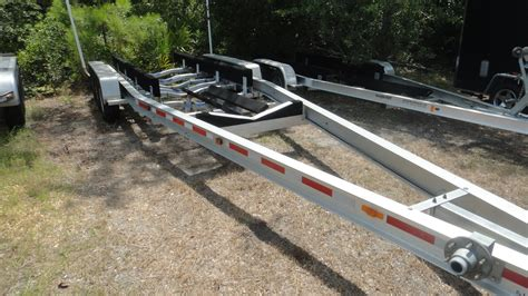 aluminum boat trailers for sale ontario triple axle aluminum boat trailer the hull truth