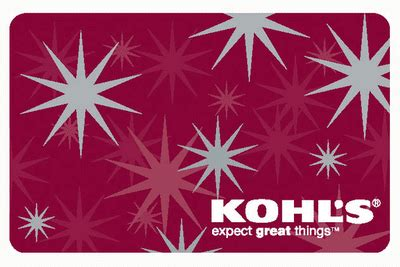 How Much Is On My Kohls Gift Card - flash giveaway win 75 today with the holiday cash gift card dash