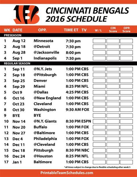 printable redskins schedule 2015 2016 printable redskins schedule calendar template 2016