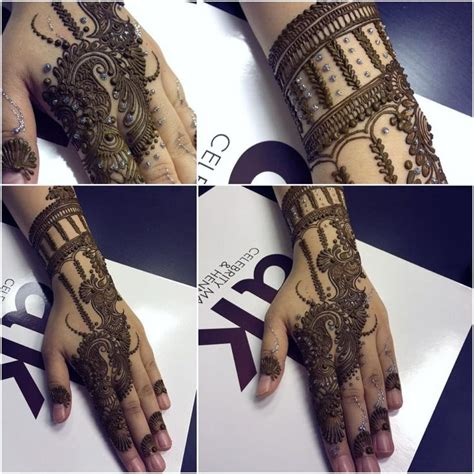 ak henna of three hands and one arm designs hennas